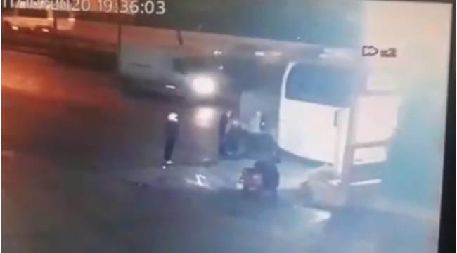 Şişli'de kamyonet sürücüsünün hayatını kaybettiği feci kaza kamerada