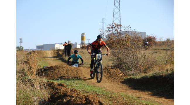 Tekirdağ'da MTB CUP bisiklet yarışları düzenlendi