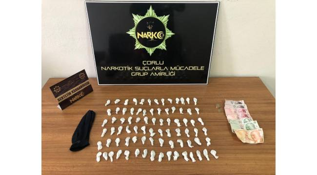 Tekirdağ'da uyuşturucu satıcılarına operasyon: 2 gözaltı