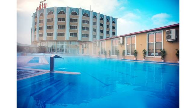 Termal otellerde ara tatil yoğunluğu başladı