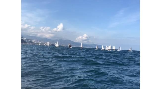 Trabzon Yelken İl Birinciliği müsabakaları heyecanlı yarışlara sahne oldu
