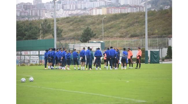 Trabzonspor, BB Erzurumspor maçı hazırlıklarını sürdürdü