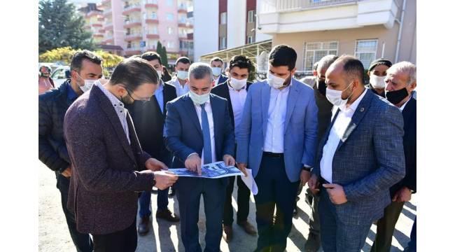 Turgut Özal Mahallesi kentsel dönüşüm projesine başlandı