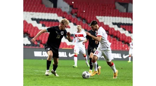 U21 Avrupa Şampiyonası: Türkiye: 0 - Avusturya: 1