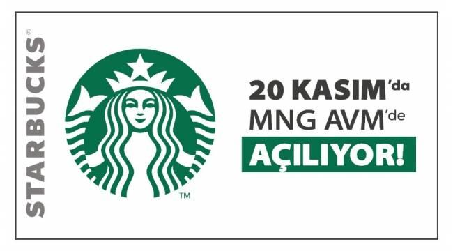 Ünlü kahve zinciri Starbucks, Erzurum MNG'de 20 Kasım'da açılıyor