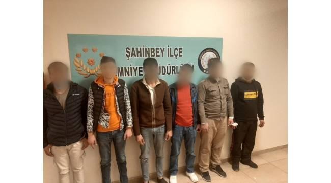 Uyuşturucu madde karşılığı çalıntı malzemeleri satan 6 hırsız yakalandı