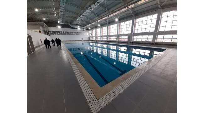 Uzunköprü'de yarı olimpik kapalı yüzme havuzu açılıyor