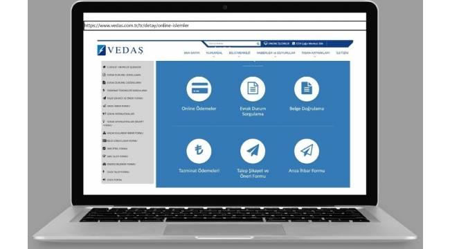 VEDAŞ'ın dijital hizmet kanalları pandemi süresince üç kat fazla kullanıldı