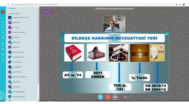 Yerli yazılımı kullanan Bartın Üniversitesi'nde 2 ayda 16 çevrimiçi eğitim verildi