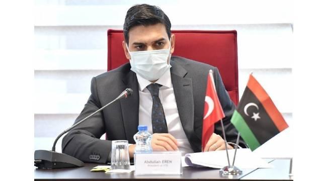 """YTB Başkanı Eren:"""" Türkiye'nin Libya'daki temel yaklaşımı hak ve hakkaniyetin korunmasıdır"""""""