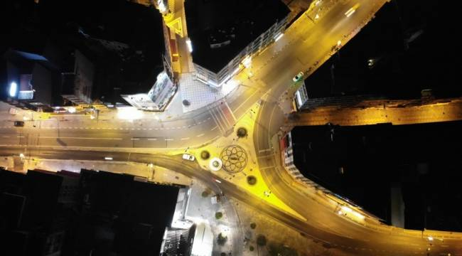 56 saatlik sokağa çıkma kısıtlaması başladı: Kadıköy havadan görüntülendi
