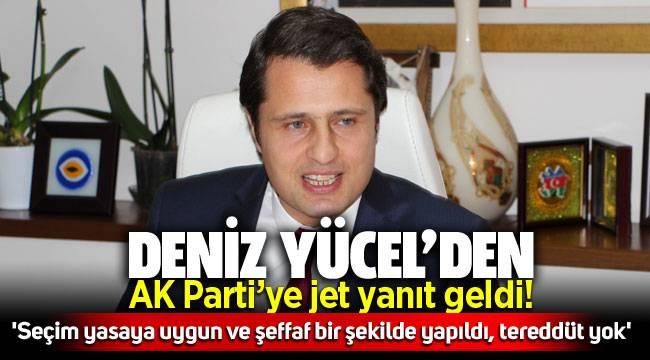 AK Parti'nin 'Seçim iptal' oldu paylaşımına CHP'li Yücel'den jet yanıt: 'Seçim yasaya uygun ve şeffaf bir şekilde yapıldı, tereddüt yok'