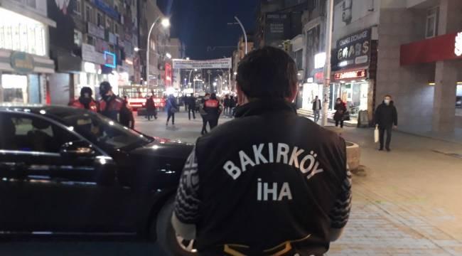Bakırköy'de drone yakaladı, polis cezayı kesti