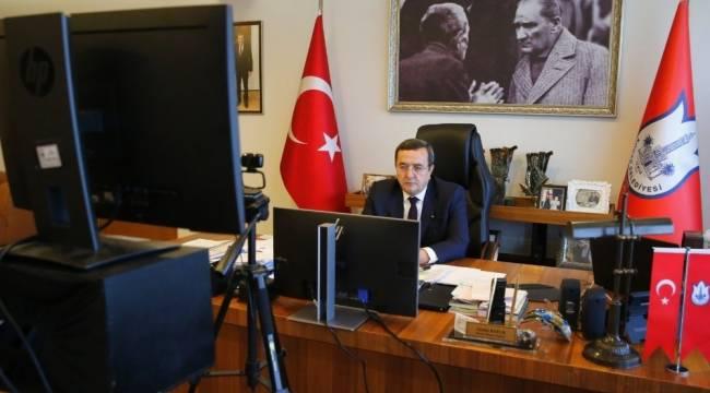 """Başkan Abdül Batur, belediye gelirleri yasasına dikkat çekti: """"Kesinlikle değiştirilmeli"""""""