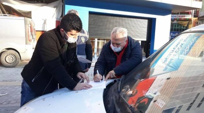 Bursa'da başkası adına düzenlenen evrakla sokağa çıktı, ceza yemekten kurtulamadı