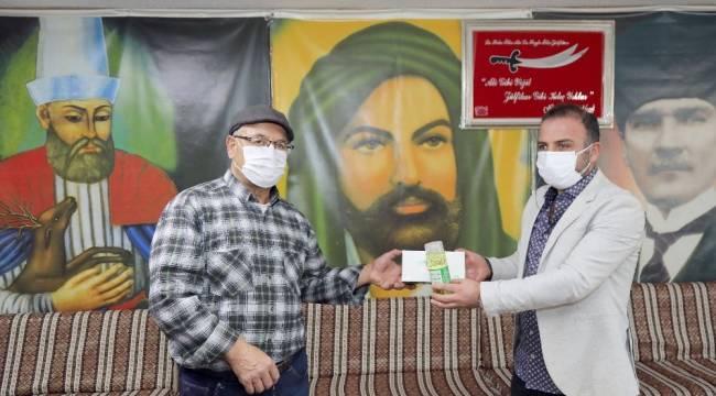 Çankaya Belediyesi Aralık ayı boyunca ibadethaneler, berber ve kuaförlere hijyen paketi dağıtacak