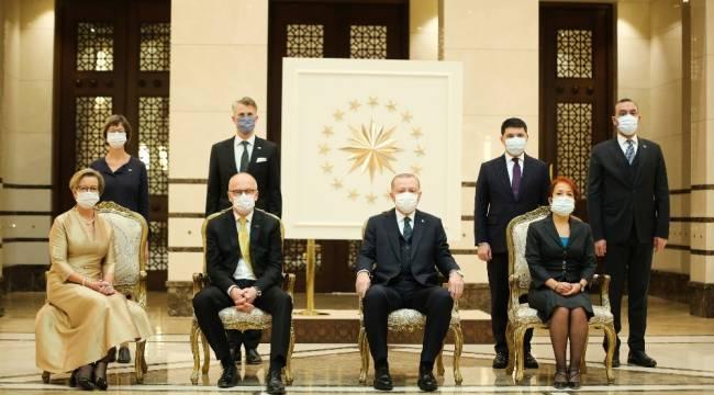 Cumhurbaşkanı Erdoğan, İsveç Büyükelçisini kabul etti