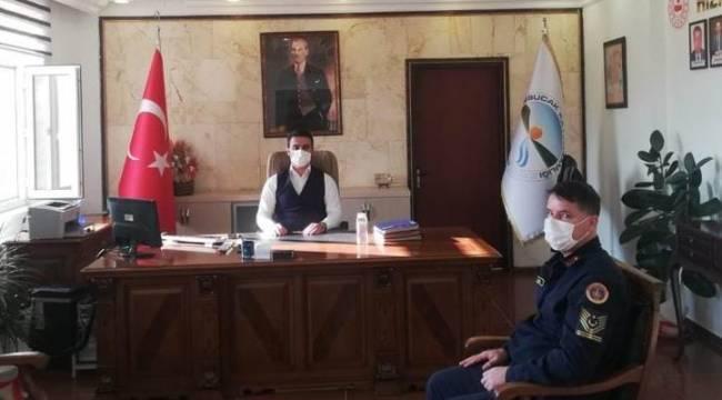 Derebucak'ın İlçe Jandarma Komutanı göreve başladı