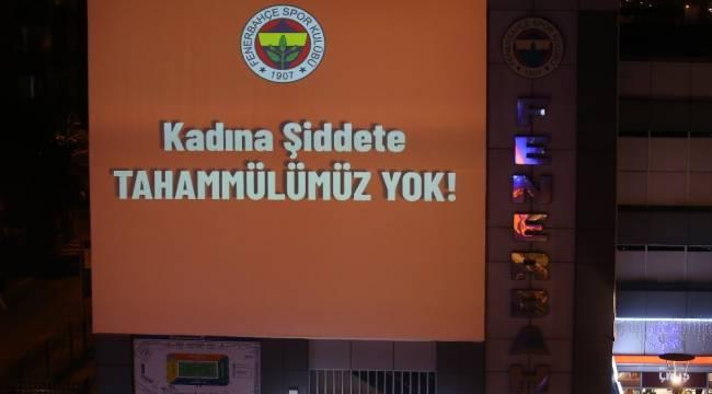 Fenerbahçe'den kadına şiddetle mücadele mesajı