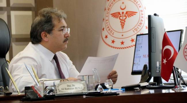 İl Sağlık Müdürü Benli, Özel Hastane Yöneticileri ile Pandemi Sürecini Değerlendirdi