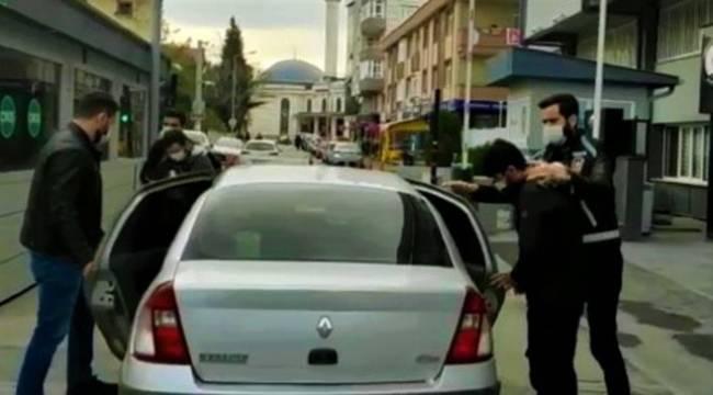 Kocaeli'de motosiklet hırsızları son işlerinde yakayı ele verdi