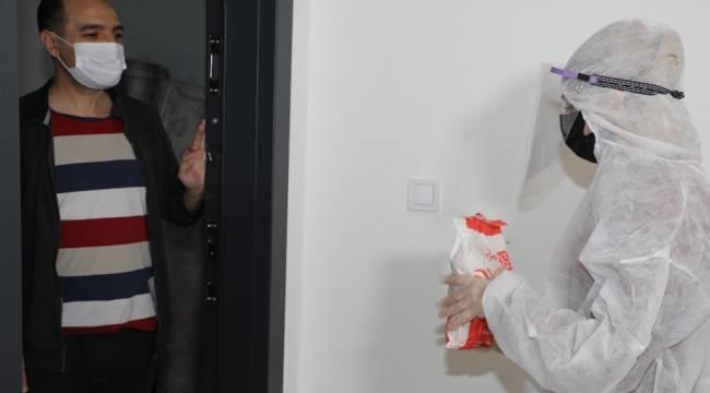 Korona virüs karantinasındaki vatandaşlara vitamin desteği