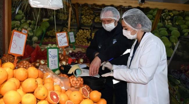Kuşadası Belediyesi gıda işletmelerine yönelik denetimleri arttırdı