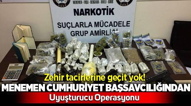 Menemen'de Uyuşturucu Operasyonu