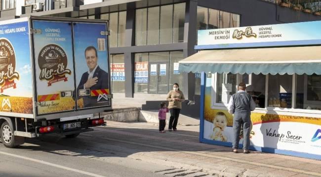 Mersin'de vatandaşlar sokağa çıkma yasağında ekmeksiz kalmadı