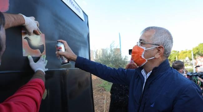 Mezitli Belediyesi, İnsan Hakları Gününü İnsan Hakları Koruluğunda kutladı