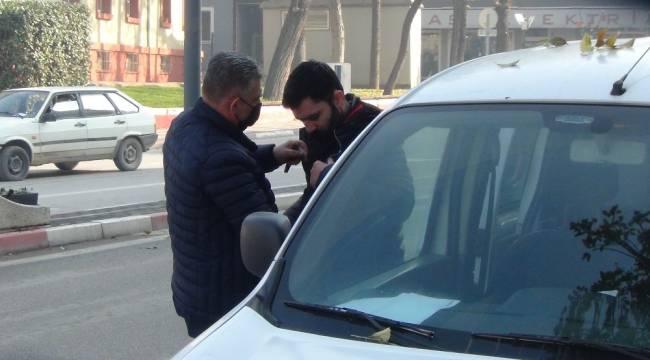 Polis hareketinden şüphelendi, oto hırsızlığından araması çıktı