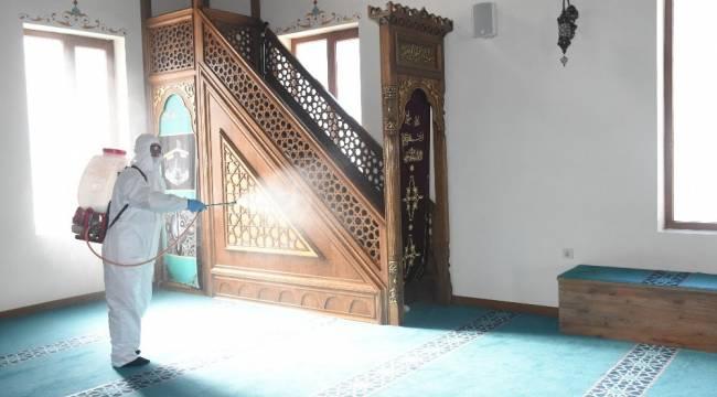 Şahinbey'de camiler dezenfekte ediliyor