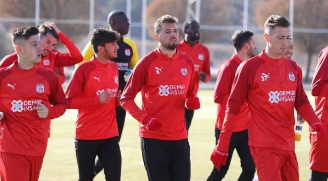 Sivasspor, Trabzonspor maçına hazır