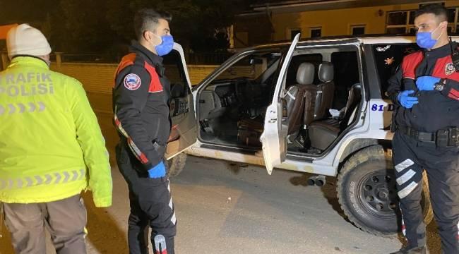 Suç makinesi polis kovalamacasında yakalandı