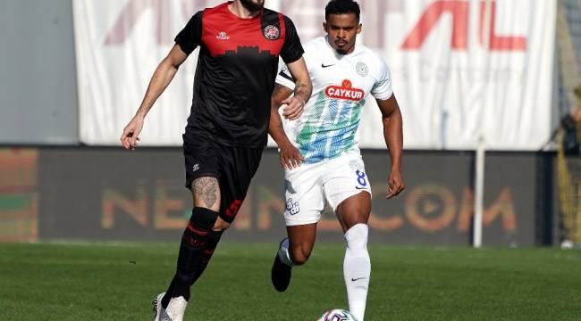 Süper Lig: Fatih Karagümrük: 2 - Çaykur Rizespor: 1