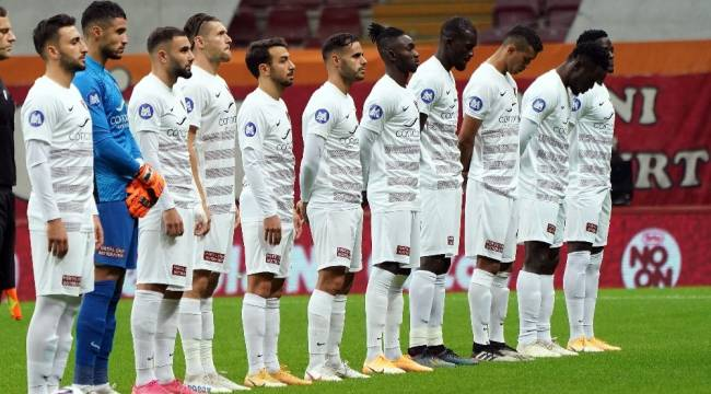 Süper Lig: Galatasaray: 0 - Hatayspor: 0