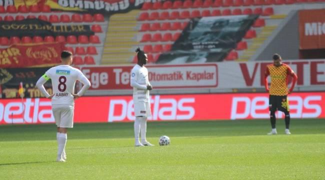 Süper Lig: Göztepe: 0 - Hatayspor: 0