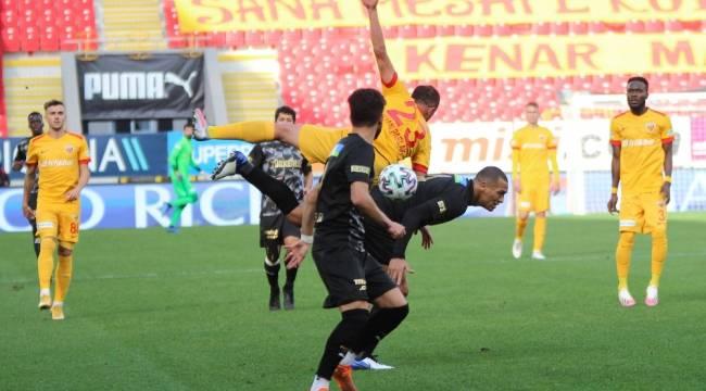 Süper Lig: Göztepe: 1 - Kayserispor: 1