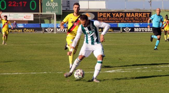 TFF 1. Lig: Giresunspor: 2 - Eskişehirspor: 0