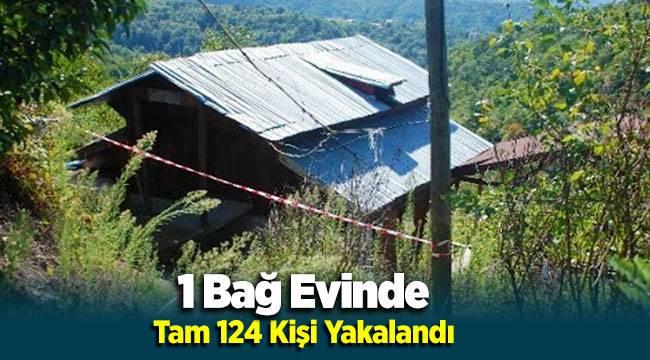Torbalı'da Bağ Evinde 124 Düzensiz Göçmen Yakalandı