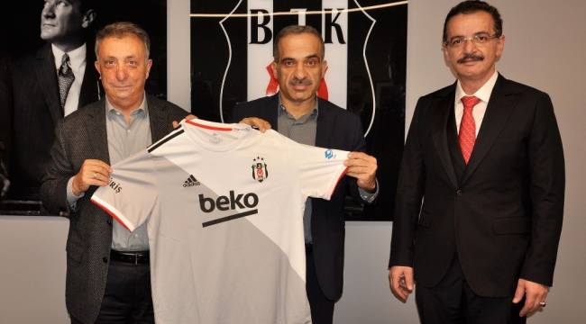 Tractor ve Machine Sazi'den Beşiktaş'a ziyaret