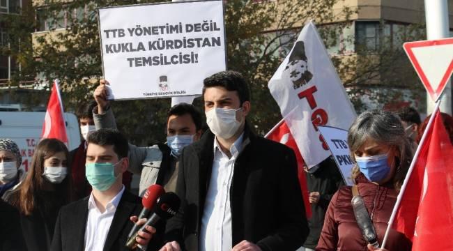 Türk Tabipler Birliği'ne sözde Kürdistan tepkisi
