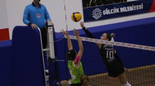 TVF Kadınlar 2. Ligi: Cadence Gölcük İhsaniyespor: 0 - Tepebaşı Gençlik ve Spor Kulübü: 3