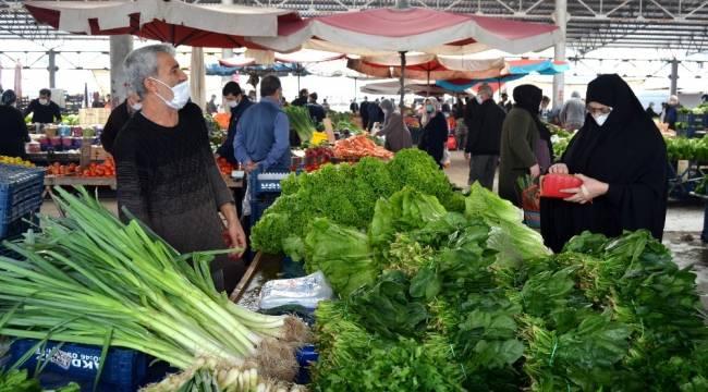 Vakaların arttığı Osmaniye'de vatandaşların tercihi organik ürünler oldu