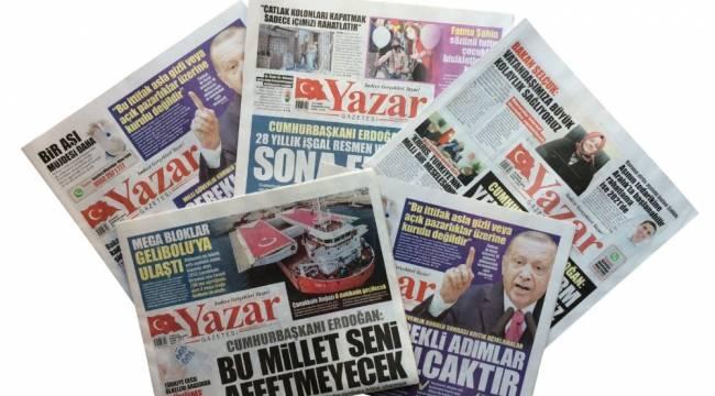 Yazar Gazetesi artık ulusal basında