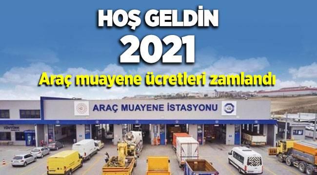 2021 Yılında Araç muayene ücretleri zamlandı
