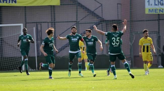 TFF 1. Lig: Menemenspor: 0 - Giresunspor: 4