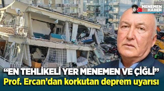 İzmir Depremi sonrası Menemen ve Çiğli için korkutan Uyarı!