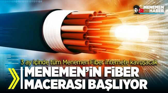 Menemen'in Fiber İnternet Macerası Başlıyor