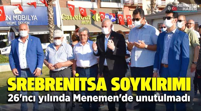 Srebrenitsa Soykırımı, 26'ncı yılında Menemen'de unutulmadı.